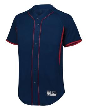Holloway 221025 Game7 Full-Button Baseball Jersey