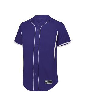 Holloway 221225 Youth  Game7 Full-Button Baseball Jersey