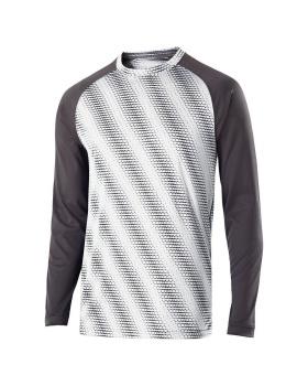 Holloway 222211-C Youth Long Sleeve Torpedo Shirt