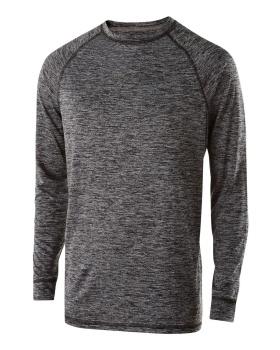 Holloway 222624 Youth Electrify 2.0 Shirt Long Sleeve