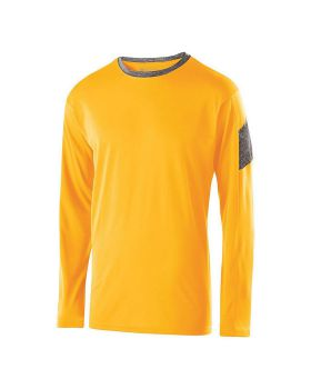 Holloway 222627 Youth Electron Long Sleeve Shirt
