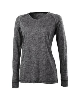 HOLLOWAY 222717 Ladies Electrify 2.0 Shirt V-Neck LS
