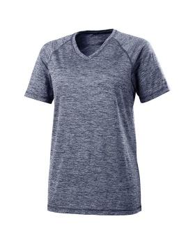 Holloway 222718 Ladies Electrify 2.0  Short Sleeve Shirt V-Neck
