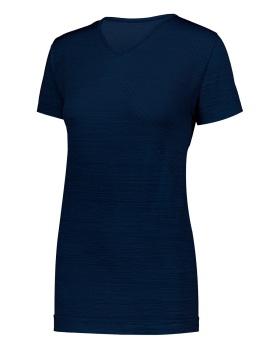 Holloway 222755 Ladies Striated Shirt Short Sleeve