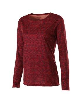 Holloway 229365-C Ladies Long Sleeve Dye Shirt