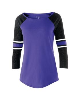 Holloway 229387-C Juniors Loyalty Shirt