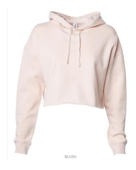 Independent Trading Co. AFX64CRP Women's Lightweight Hooded Pullover Cro ...