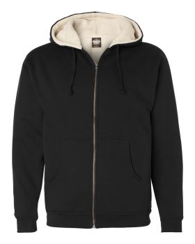 Independent Trading Co. EXP40SHZ Sherpa Lined Full-Zip Hooded Sweatshirt