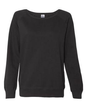 Independent Trading Co. SS240 Junior's Lightweight Crewneck Sweatshirt