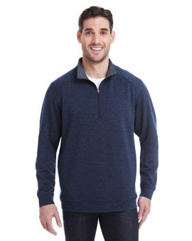J America JA8434 Adult Omega Stretch Quarter-Zip