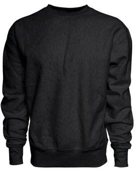 J America JA8446 Adult Sport Weave Crew Neck Sweatshirt