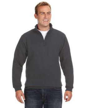 J America JA8634 Adult Heavyweight Fleece Quarter-Zip