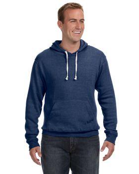 J America JA8871 Adult Triblend Pullover Fleece Hood