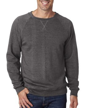J America JA8875 Men's Triblend Fleece Crew