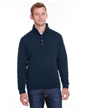 J America JA8890 Adult Quilted Snap Pullover