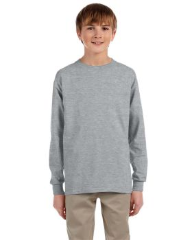 Jerzees 29BL Youth Dri-Power Active 50/50 Cotton/Poly Long Sleeve T-Shirt