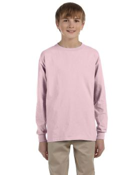 'Jerzees 29BL Youth Dri-Power Active 50/50 Cotton/Poly Long Sleeve T-Shirt'