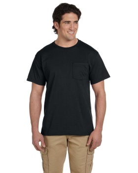 Jerzees 29P Adult Dri Power Active Pocket T-Shirt