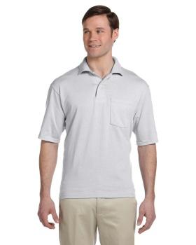 Jerzees 436P Adult SpotShield Pocket Jersey Polo