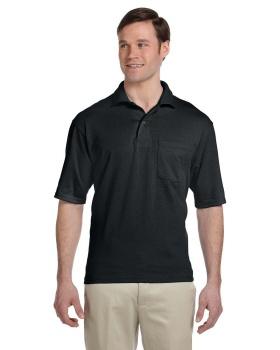 Jerzees 436P Adult SpotShield Pocket Jersey Polo Shirt