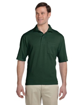 Jerzees 436P Adult SpotShield Pocket Jersey Polo Shirt