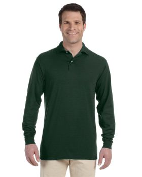 Jerzees 437ML Adult SpotShield Long Sleeve Jersey Polo Shirt