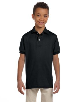 Jerzees 437Y Youth SpotShield Jersey Polo