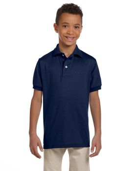 Jerzees 437Y Youth SpotShield Jersey Polo