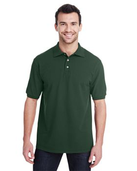 Jerzees 443MR Adult Premium Ringspun Cotton Piqué Polo