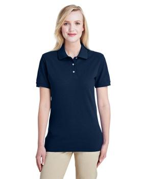 Jerzees 443WR Ladies' Premium Ringspun Cotton Piqué Polo