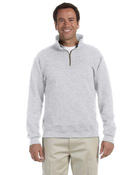 Jerzees 4528 Adult Super Sweats NuBlend Fleece Quarter Zip Pullover