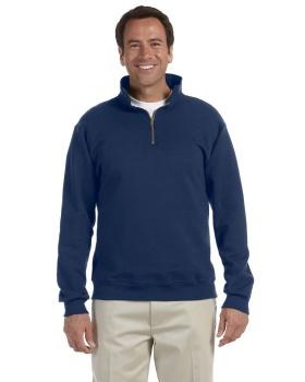 Jerzees 4528 Adult Super Sweats NuBlend Fleece Quarter Zip Pullover