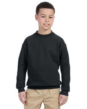 Jerzees 4662B Boys YouthSuper Sweats Nublend Fleece Crew
