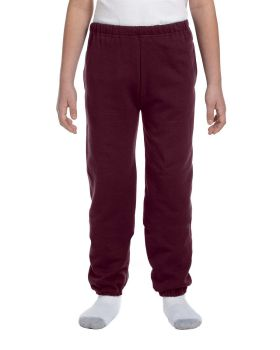 Jerzees 4950BP Kids Youth Super Sweats Nublend Fleece Pocketed Sweatpants