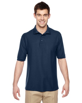 Jerzees 537MSR Adult Easy Cotton Polyester Care Polo-shirts