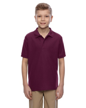 Jerzees 537YR Youth Easy Care Pique Sport Shirt