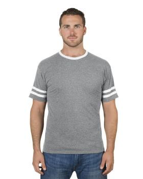 Jerzees 602MR Adult TRI-BLEND Varsity Ringer T-Shirt