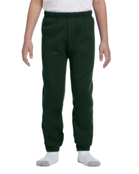 Jerzees 973B Youth NuBlend Fleece Sweatpants Cotton Polyester