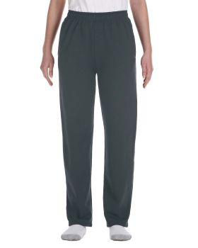 Jerzees 974Y Youth NuBlend Open-Bottom Fleece Sweatpants
