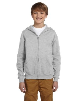 Jerzees 993B Youth NuBlend Fleece Full-Zip Hood
