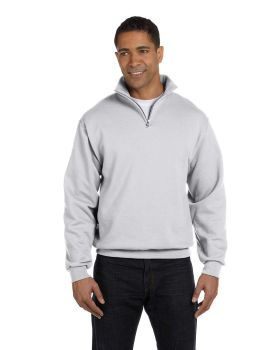 Jerzees 995M Adult NuBlend Quarter-Zip Cadet Collar Sweatshirt