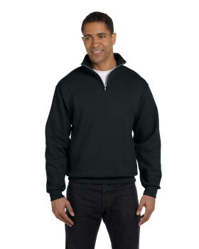 Jerzees 995M Adult NuBlend Quarter Zip Cadet Collar Sweatshirt