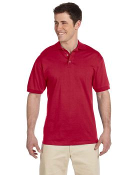 'Jerzees J100 Adult Heavyweight Cotton Jersey Polo'