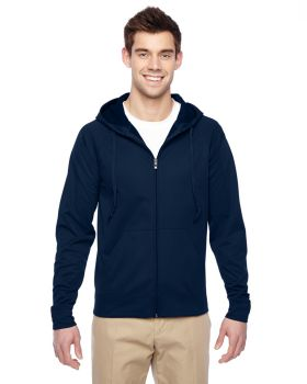Jerzees PF93MR Adult DRI-POWER SPORT Full-Zip Hooded Sweatshirt
