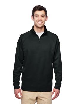 Jerzees PF95MR Adult DRI-POWER SPORT Quarter-Zip Cadet Collar Sweatshirt