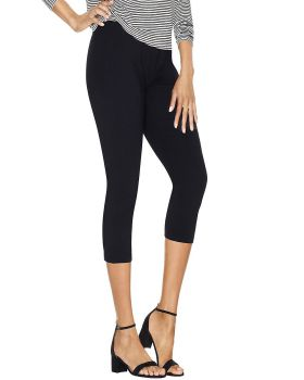 Just My Size Q88908 Women's Stretch Cotton Capri Leggings