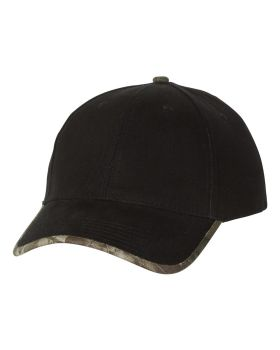 Kati LC26 Solid Cap with Camouflage Bill