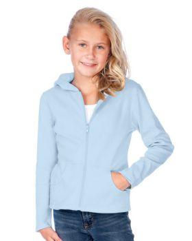 Kavio G1C0216 Girl's 7-16 Long Sleeve Zip Hoodie