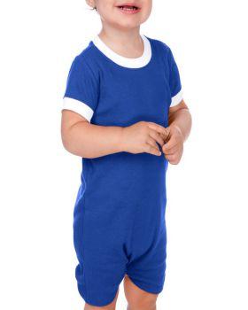 Kavio I1C0189 Infant Scoop Neck Short Sleeve Romper