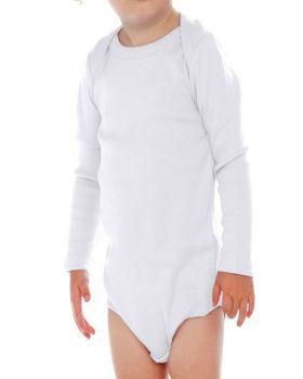 Kavio I1C0268 Infant Lap Shoulder Long Sleeve Onesie